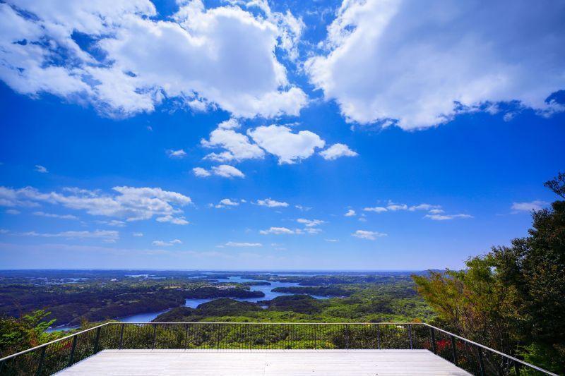 伊势附近的小旅行:在横山展望台的山顶咖啡厅,悠然眺望英虞湾海景