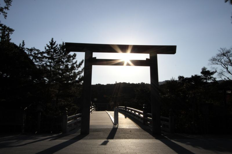 """The """"Ise Jingu"""" which we wish to visit once in our lifetime and the """"Kumano Kodo"""" the World Heritage Site known as the Road of Pilgrimage"""