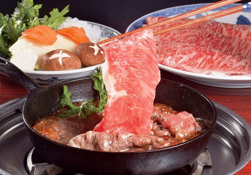 """Licking your lips over the branded """"Matsusaka Beef"""" at the home of Matsusaka beef"""
