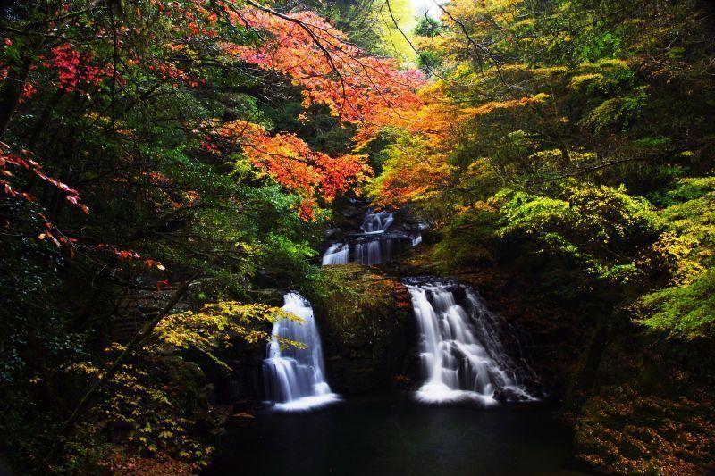 The Akame 48 Falls