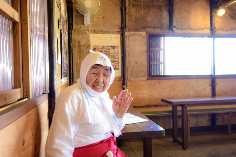 "The ama-san (female divers) house ""Hachimankamado"" is a popular spot among foreign tourists in where you can be amazed by the precise experience of meeting traditional Japanese female divers."