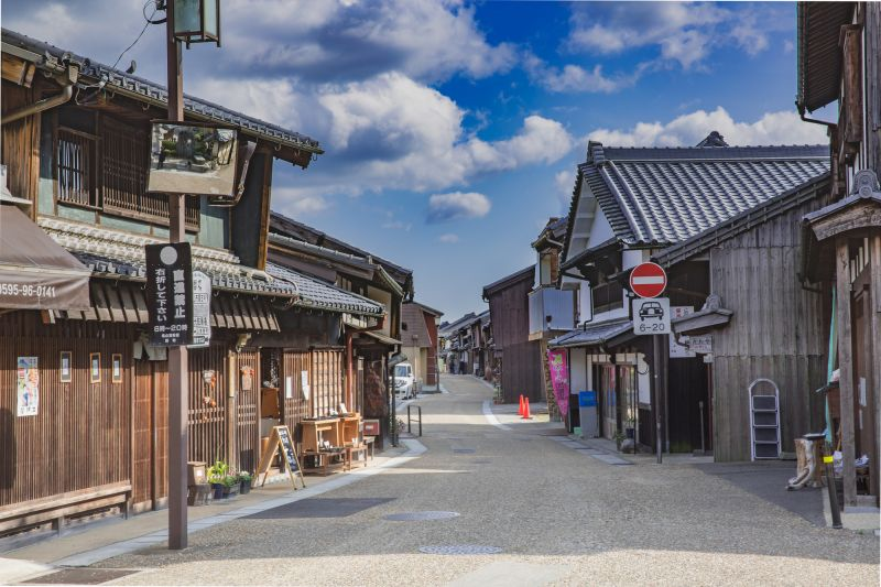 Tokaido: Old Golden Route in Japan. Touring Sekijuku and Akari Candle Shop