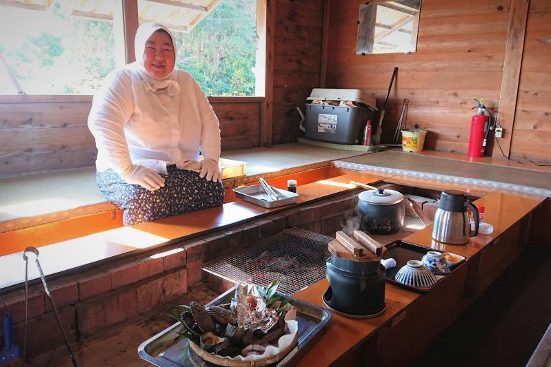 Face-to-Face with the Real Diving Heroines of Ise Shima at Ama Hut Satoumian