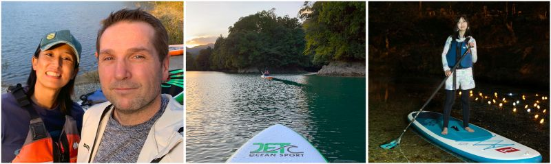 ILLUMINATION SUP – A BEAUTIFUL COMBINATION OF WATER AND LIGHT - All Ages Can Enjoy Beautiful Scenery and Twinkling Lights While Experiencing SUP Near Odai Town
