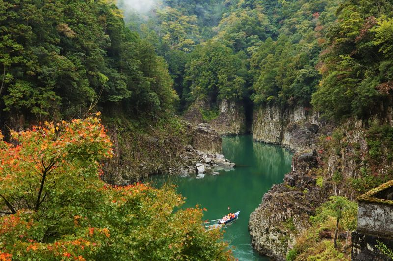 Be Amazed by the Prehistoric Natural Beauty of Dorokyo Gorge