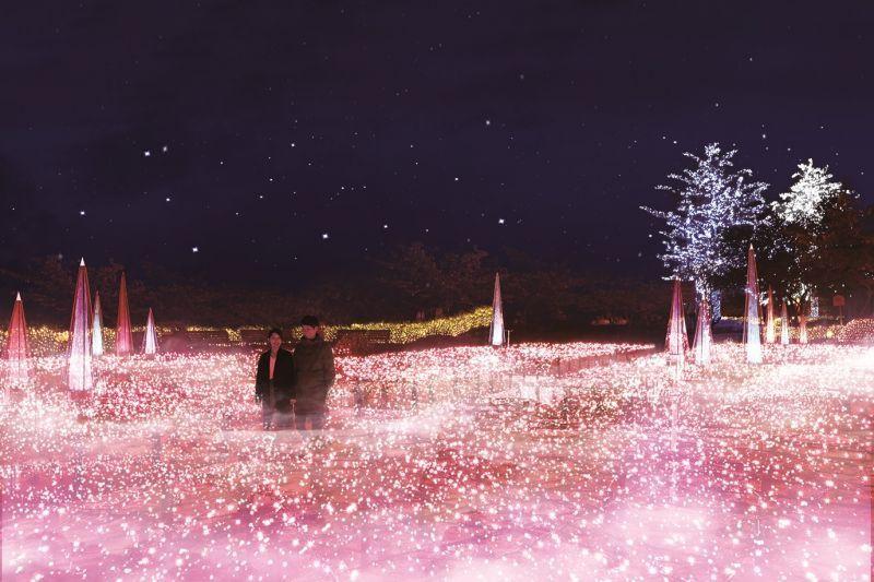 Summer Illuminations at Nabana no Sato  A Midsummer Night's Dream