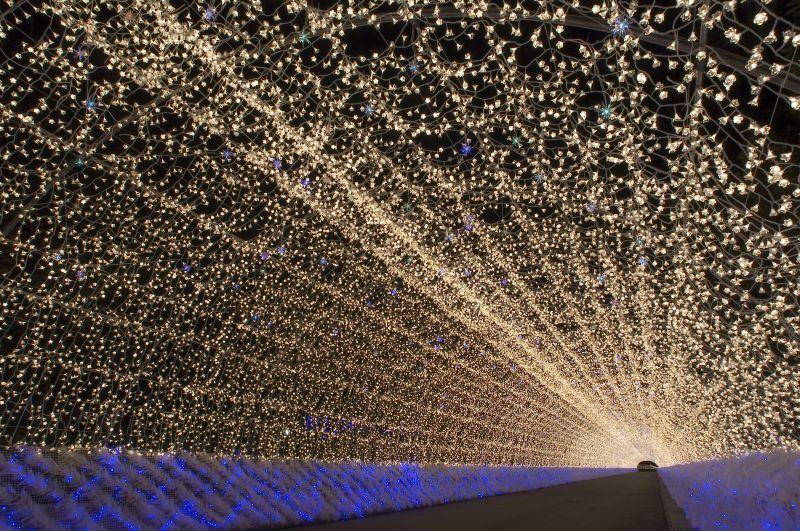 Una de las iluminaciones más grandes de Japón
