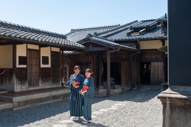 옛날로 시간여행! '마쓰사카 상인의 집'