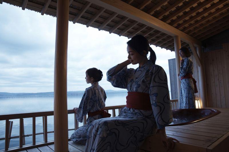 [가시코지마 섬] 럭셔리한 오션 리조트에서 절경 온천을 즐기자