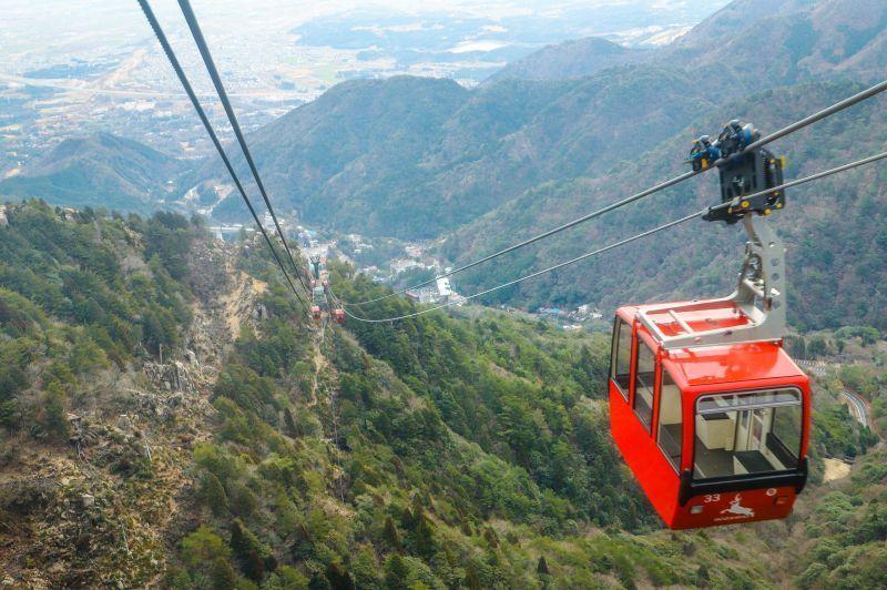 Gozaisho ropeway ยิ่งสูงยิ่งสวย หนึ่งในจุดชมวิวบนหุบเขา ที่มาง่ายและเที่ยวได้ตลอดปีของจ.มิเอะ