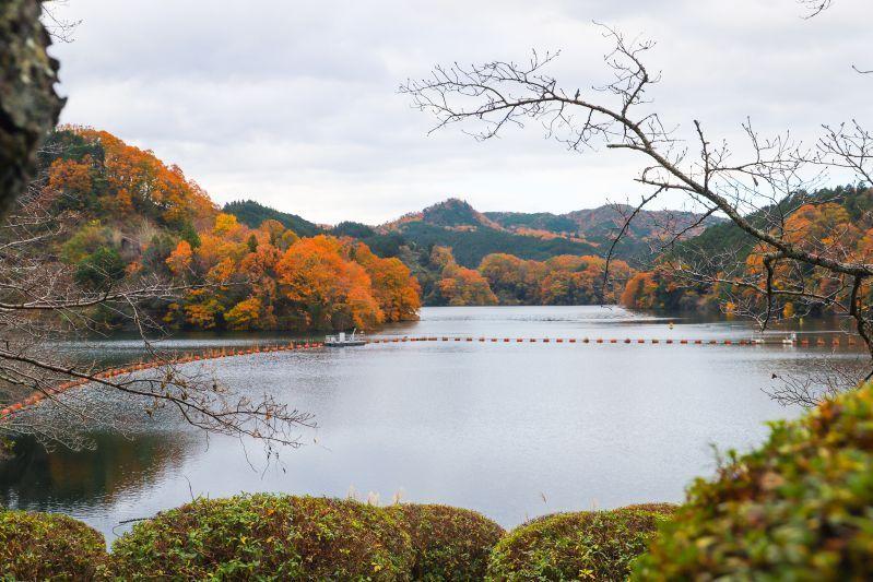 เที่ยวเขื่อนโชเรนจิ นั่งชมวิวทะเลสาบสวย เดินเล่นยามใบไม้เปลี่ยนสีพร้อมจิบกาแฟชิลๆ
