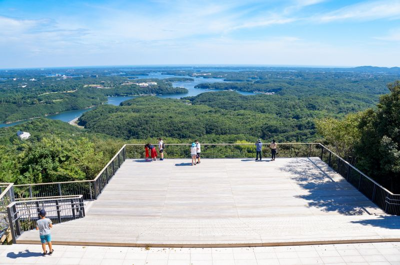 可眺望英虞灣的橫山天文台重新開放! 新的「Sky Cafe Terrace」也受到相當的觀注!