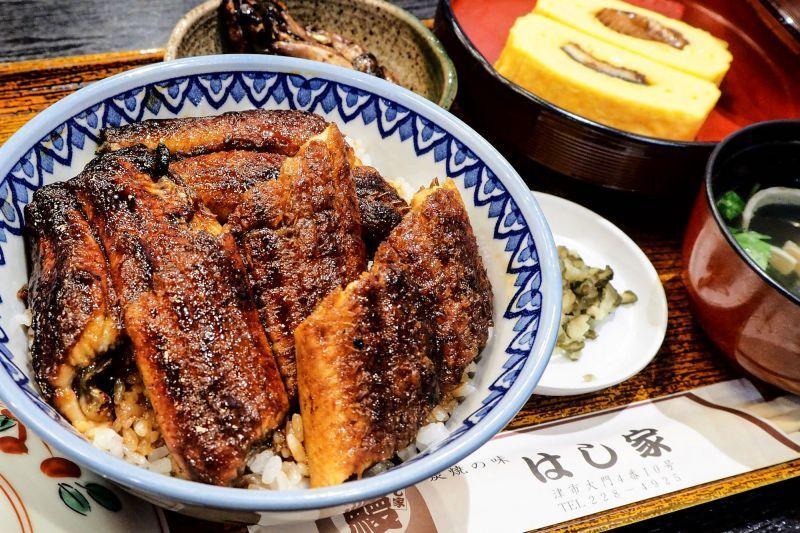 用庶民價格,品嘗高級蒲燒鰻,就到日本第一鰻魚城「津市 箸家」。