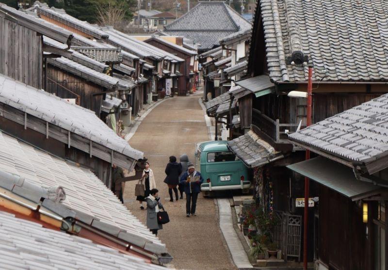 日本特色道路之一!彷彿來到時間靜止的平行時空,來這裡感受一下古代日本的驛站街吧! 「關宿」