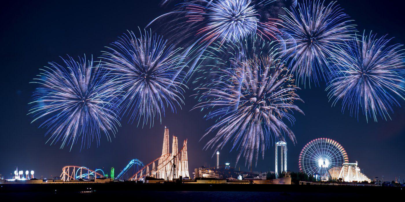 日本最大的遊樂園!約50種以上的遊樂設施齊聚一堂